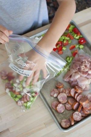 Congeler des aliments
