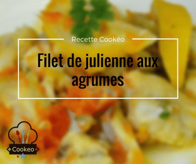 Filet de julienne aux agrumes