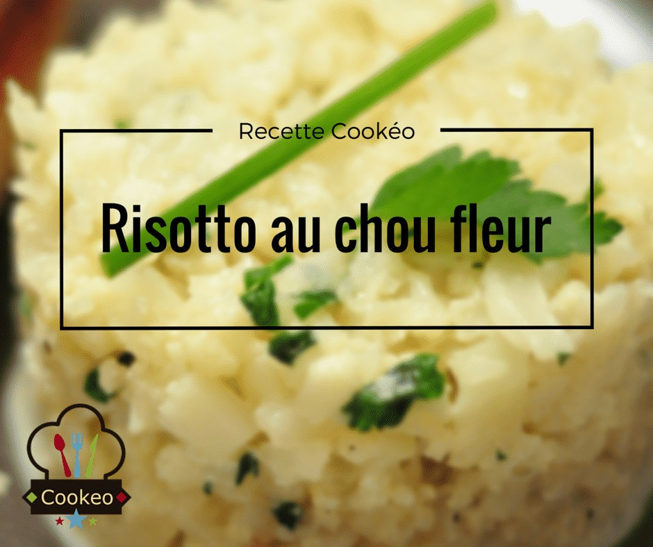 risotto au chou fleur recette cookeo. Black Bedroom Furniture Sets. Home Design Ideas
