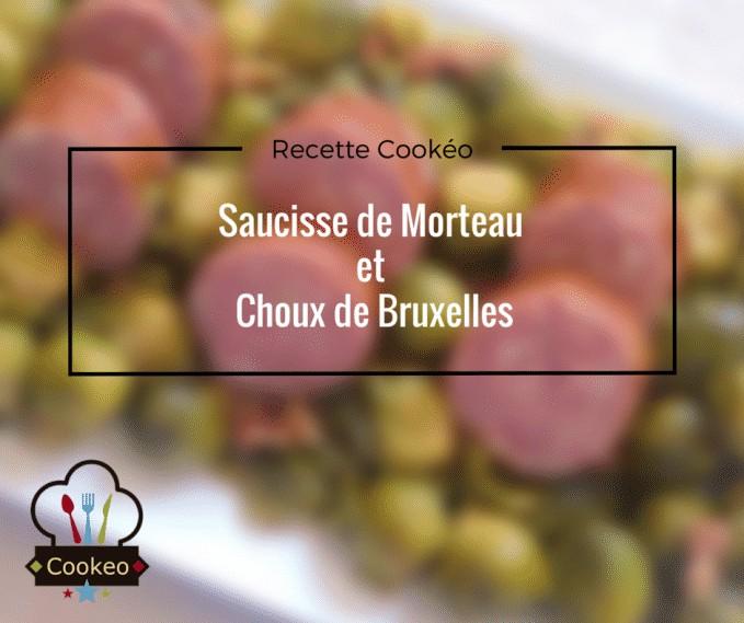 Saucisse de Morteau et Choux de Bruxelles