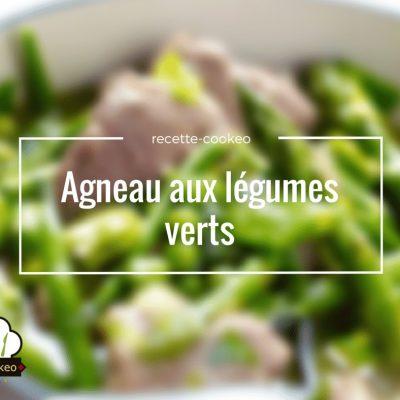 Agneau aux légumes verts