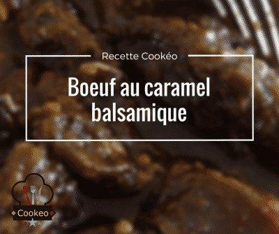 Boeuf au caramel balsamique