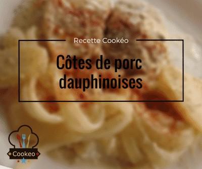 Côtes de porc dauphinoises