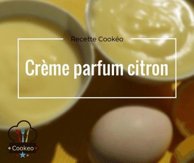 Crème parfum citron
