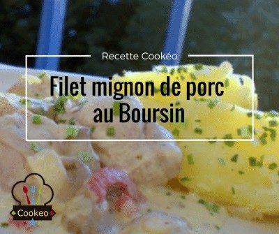 Filet mignon au Boursin