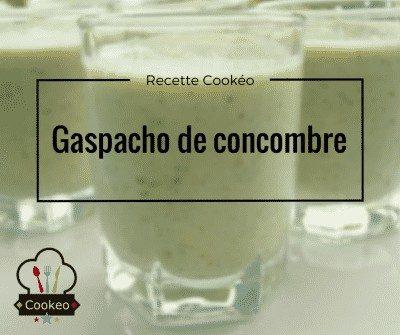 Gaspacho de concombre