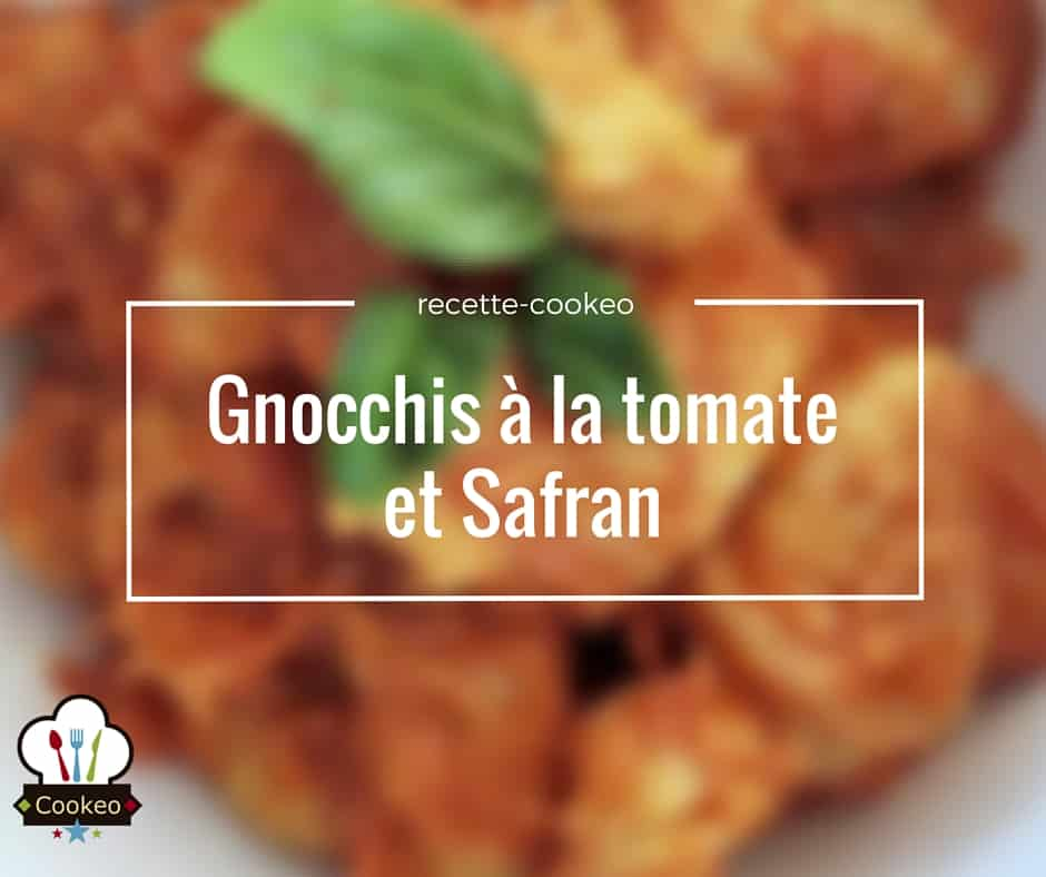 Gnocchis à la tomate et safran