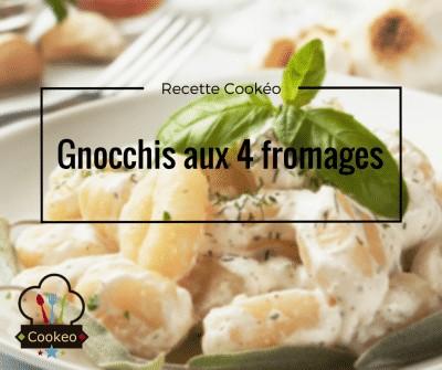 Gnocchis aux 4 fromages