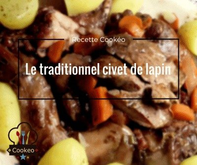 Le traditionnel civet de lapin