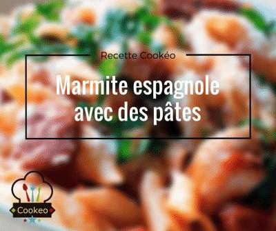 Marmite espagnole avec des pâtes