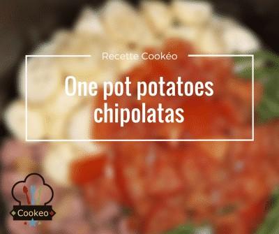 One pot potatoes chipolatas