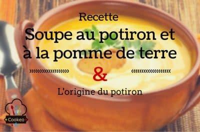 Soupe au potiron et à la pomme de terre