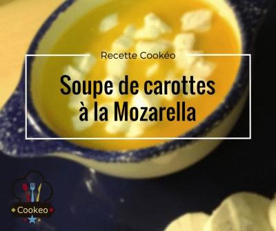 Soupe de carottes à la Mozzarella