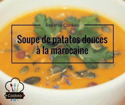 Soupe de patates douces à la marocaine