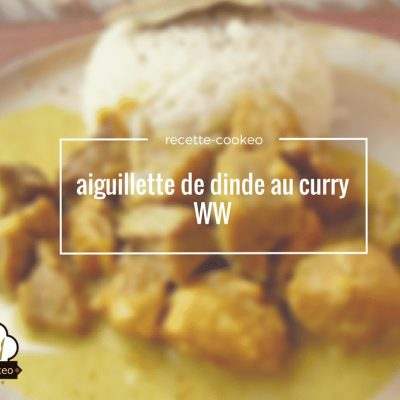 aiguillette de dinde au curry WW