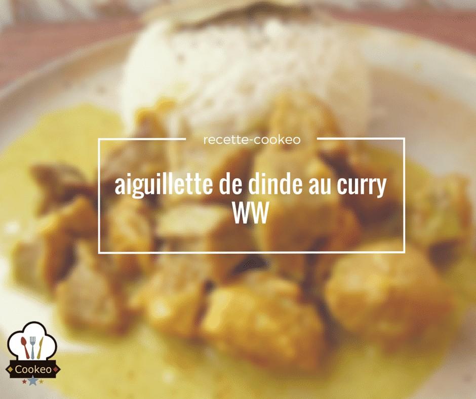 Dinde au curry WW
