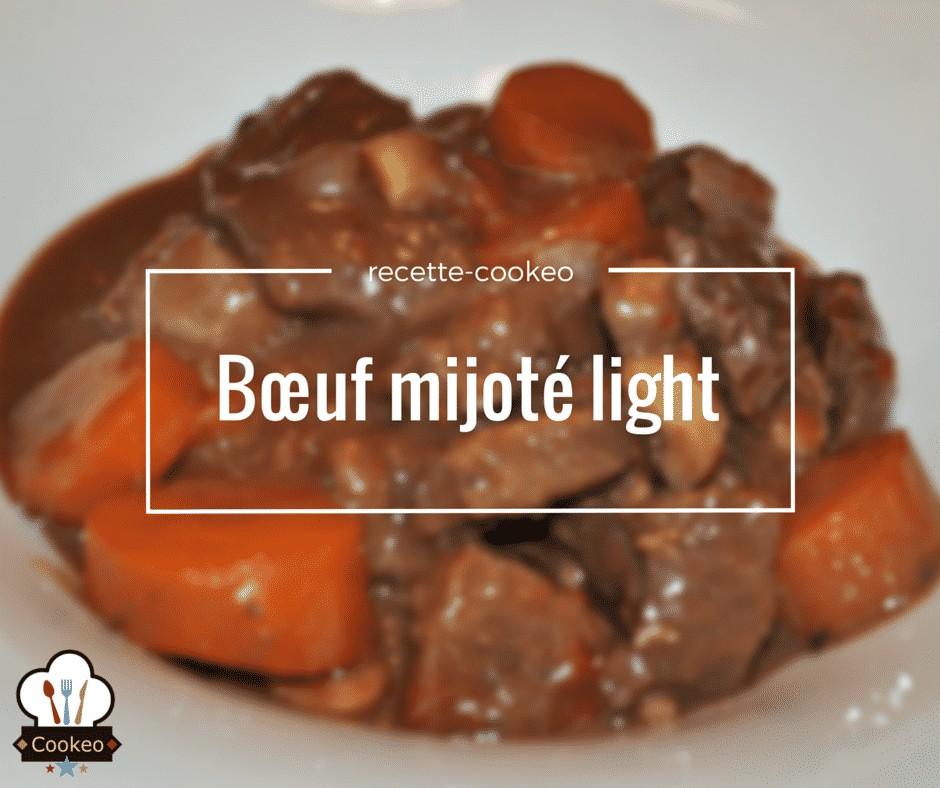 Bœuf mijoté light