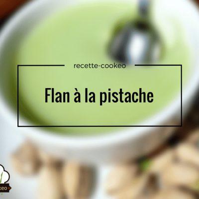 Flan à la pistache
