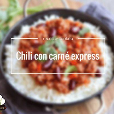Chili con carné express