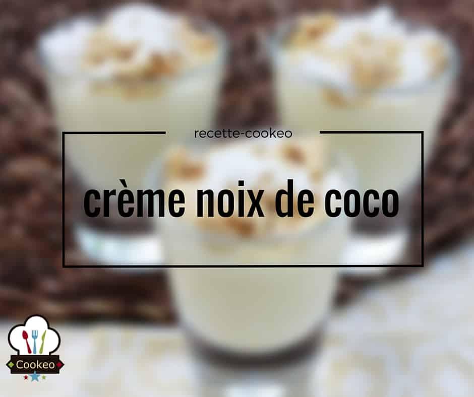 Crème noix de coco
