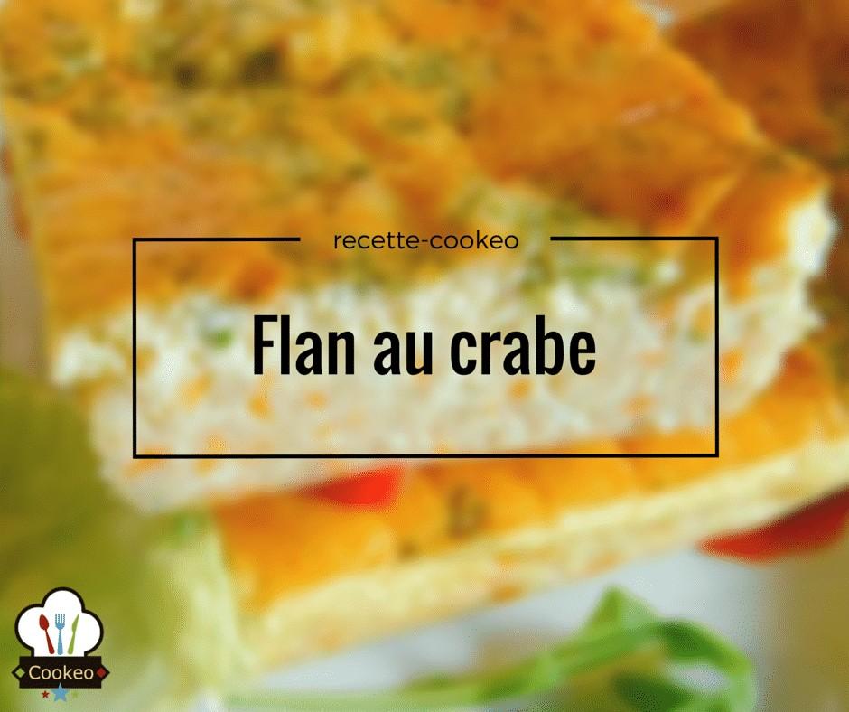 Flan au crabe