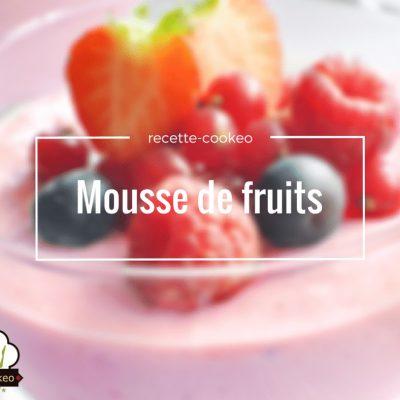 Mousse de fruits