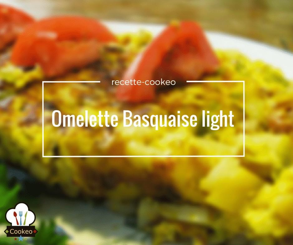 Omelette Basquaise light