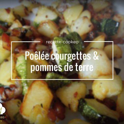 Poêlée courgettes & pommes de terre