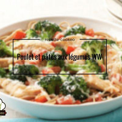 Poulet et pâtes aux légumes WW