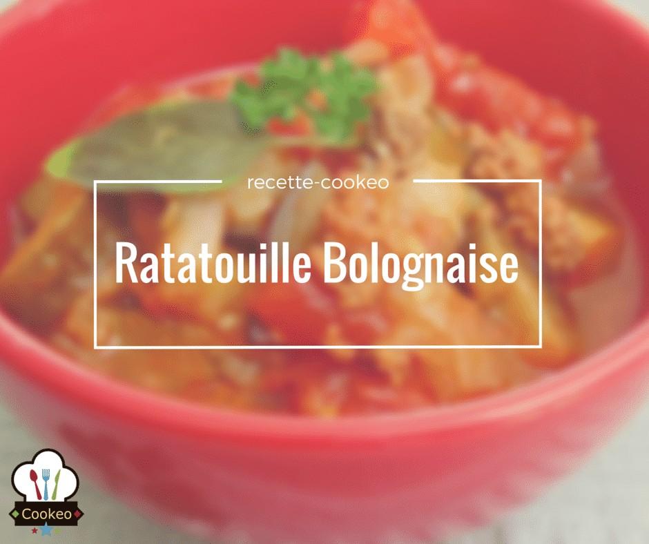 Ratatouille Bolognaise