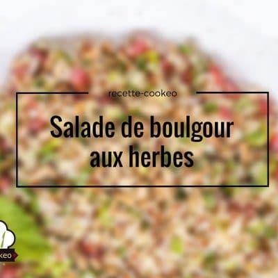 Salade de boulgour aux herbes