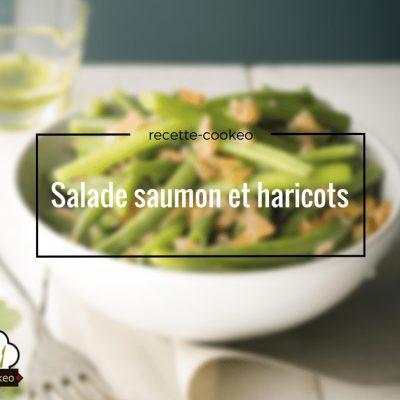 Salade saumon et haricots