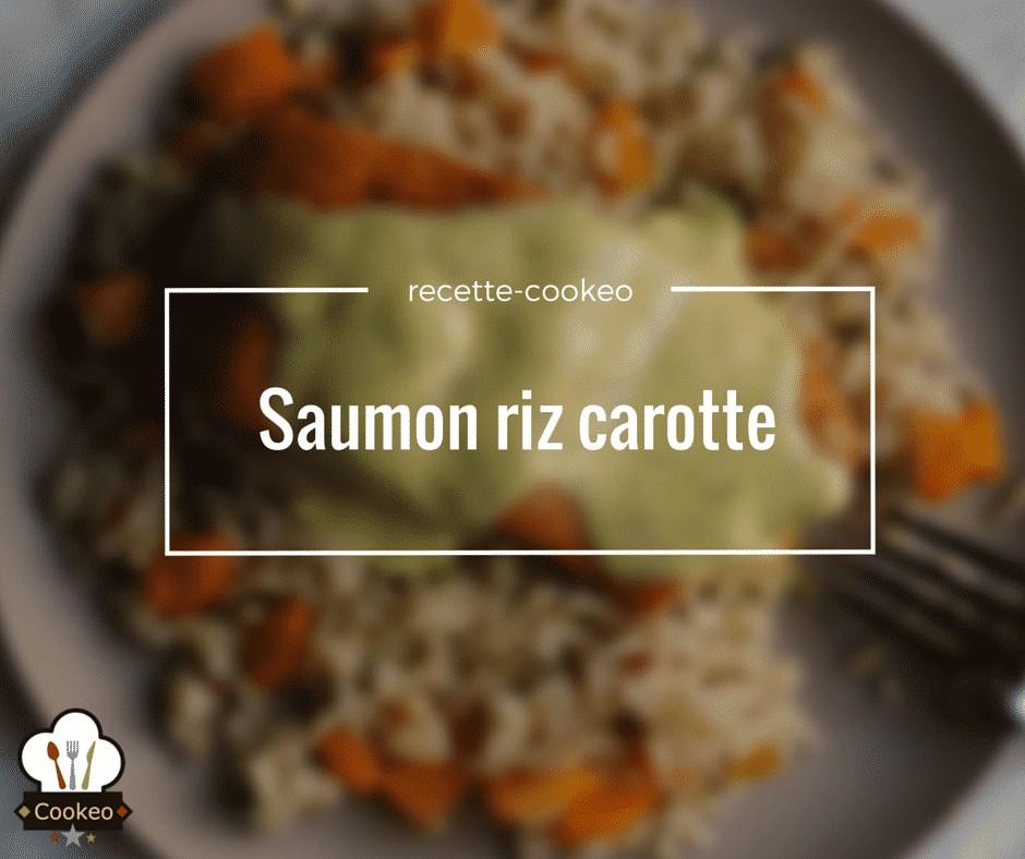 Saumon riz carotte
