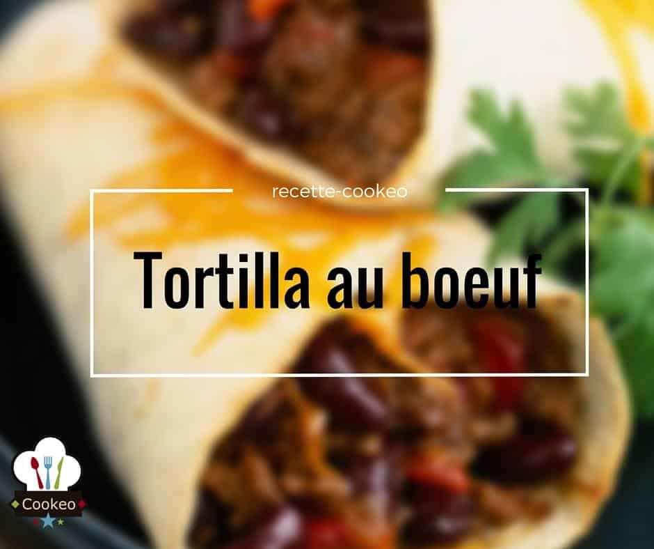 Tortilla au bœuf