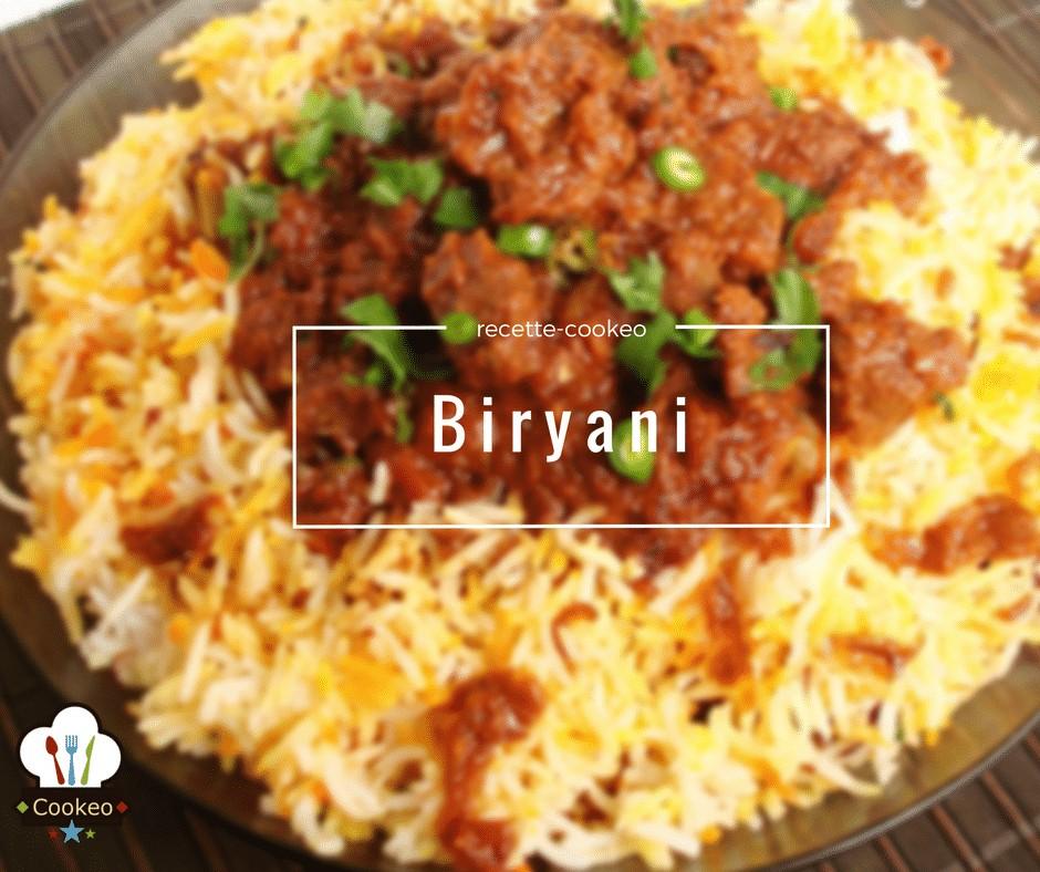 Biryani recette cookeo - Cuisine indienne biryani ...