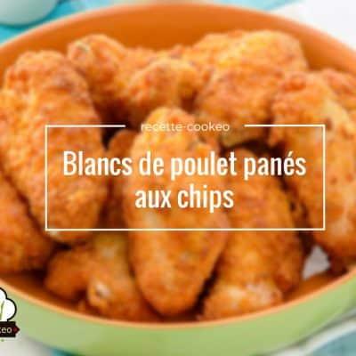 Blancs de poulet panés aux chips