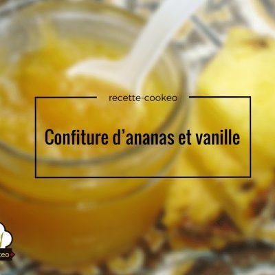 Confiture d'ananas et vanille