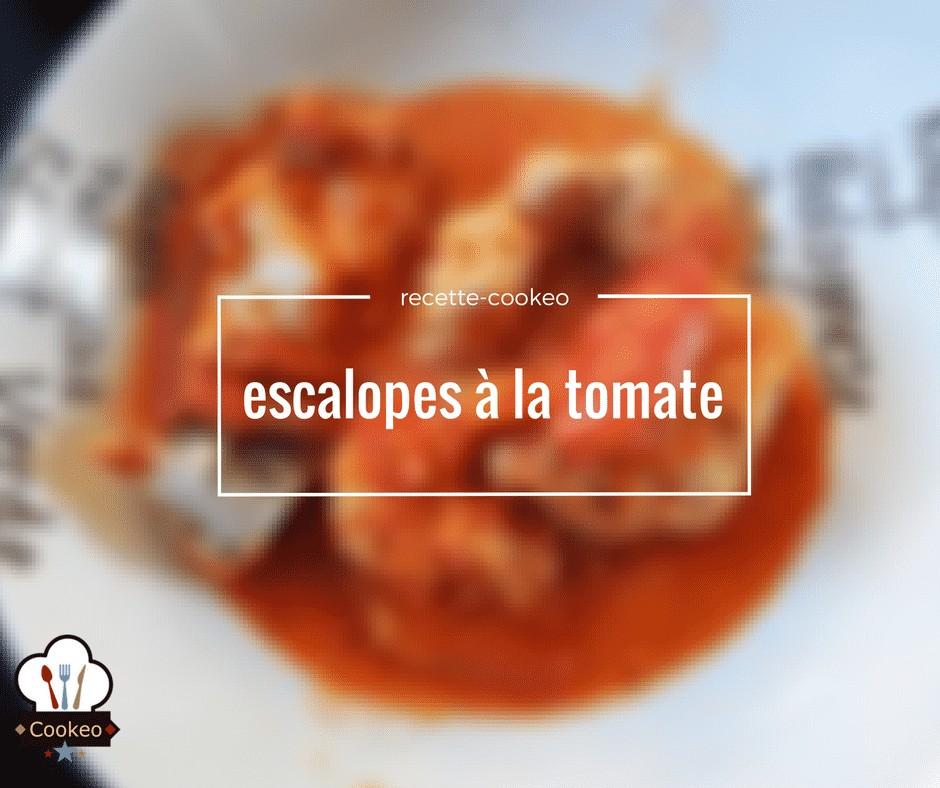 escalopes à la tomate