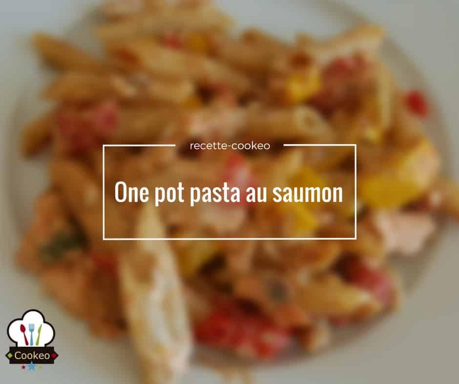 One pasta salade au saumon
