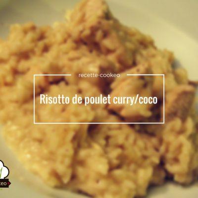 Risotto de poulet curry/coco