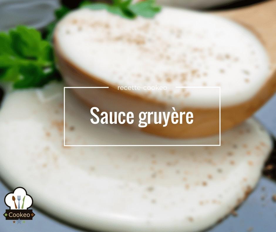 Sauce gruyère