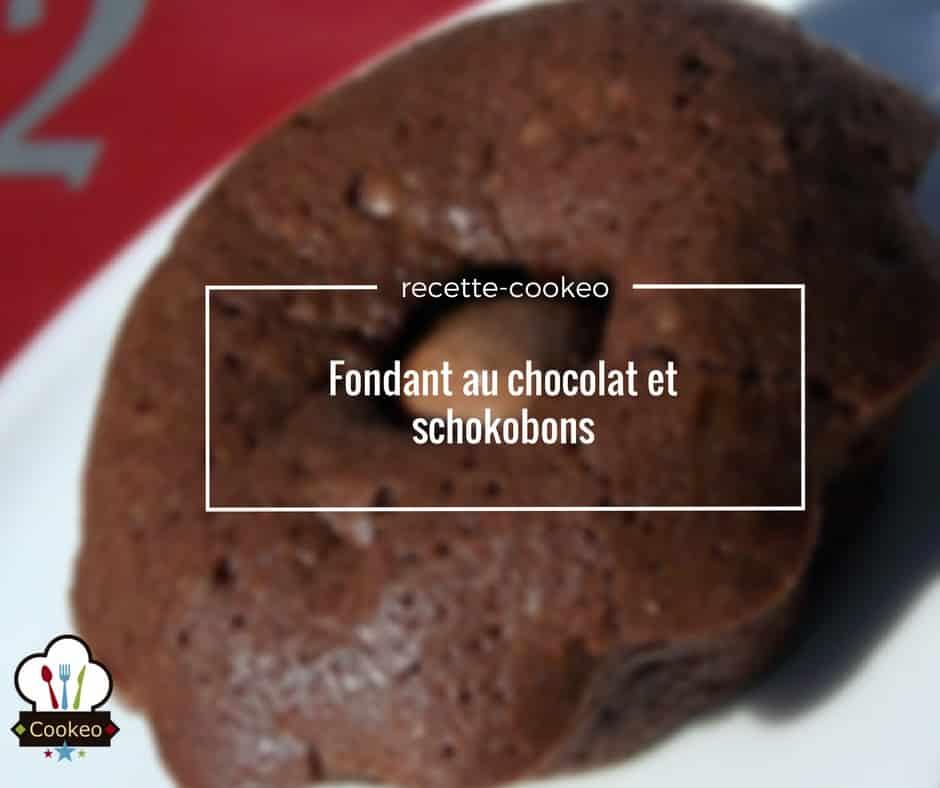 Fondant au chocolat et schokobons
