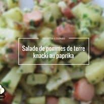 Salade de pommes de terre knacki au paprika